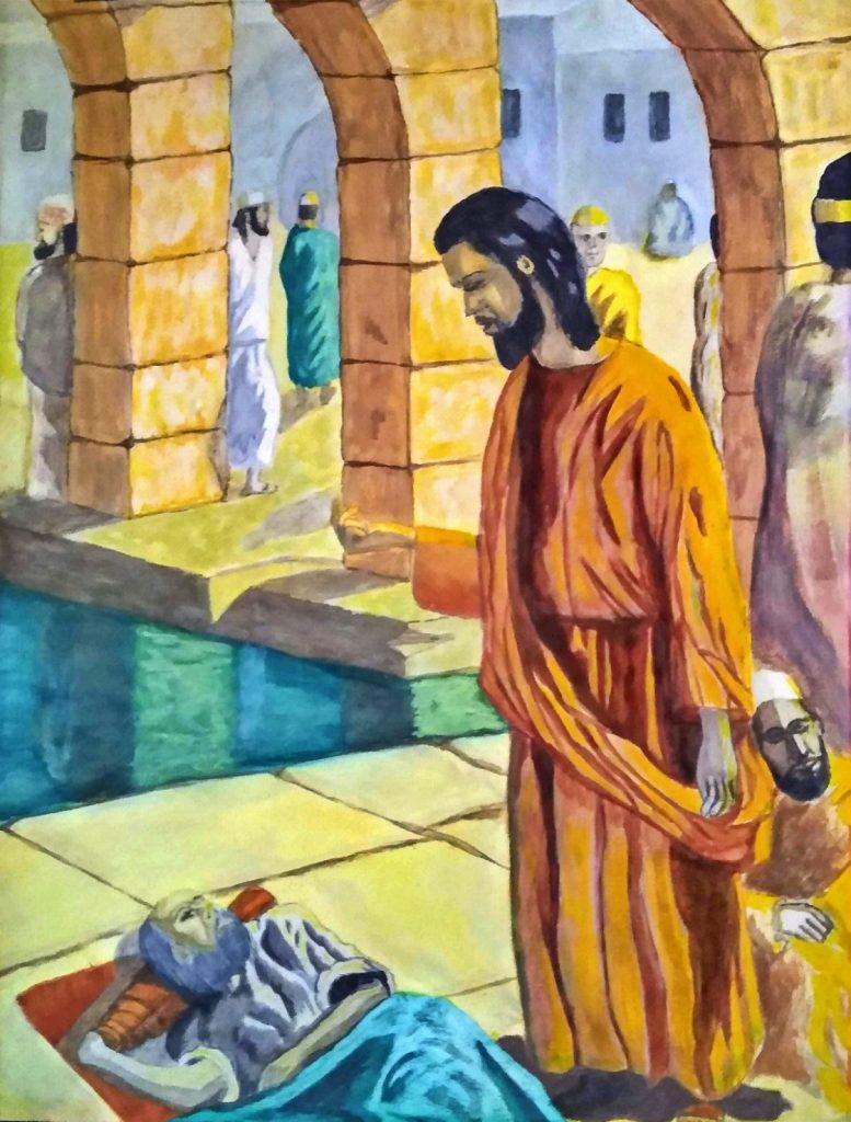 Dominican Republic artist - return of Jesus to Galilee