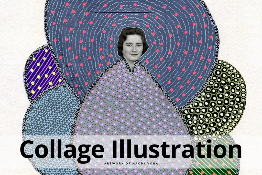 collage illustration by Naomi Vona