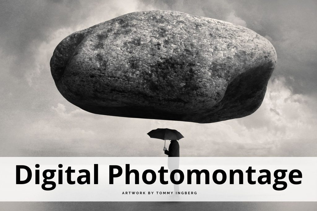 digital photomontage by Tommy Ingberg