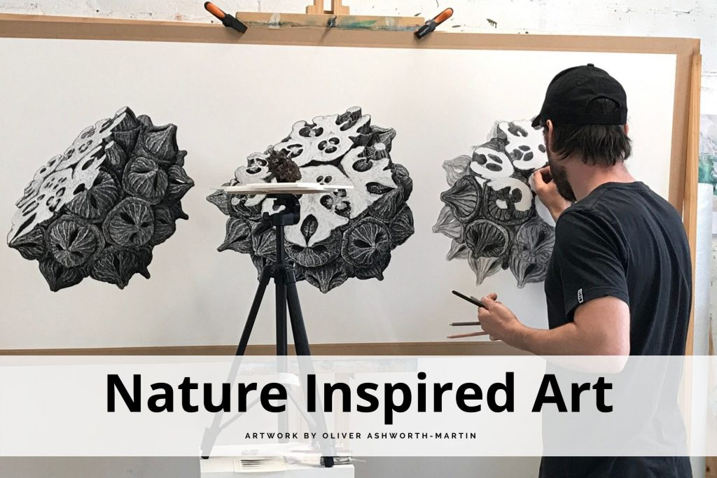 nature inspired art by Oliver Ashworth-Martin