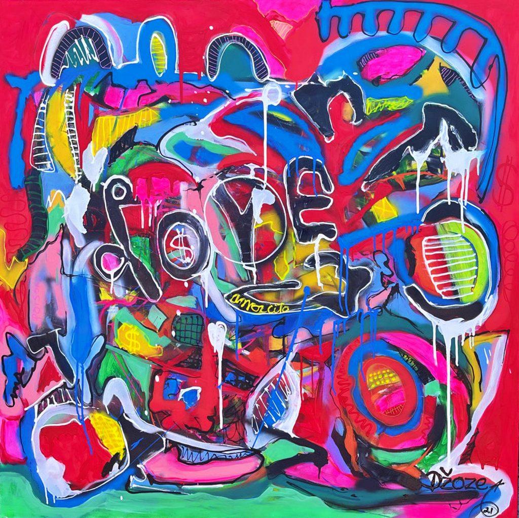 Dominican Republic artist - love and peace
