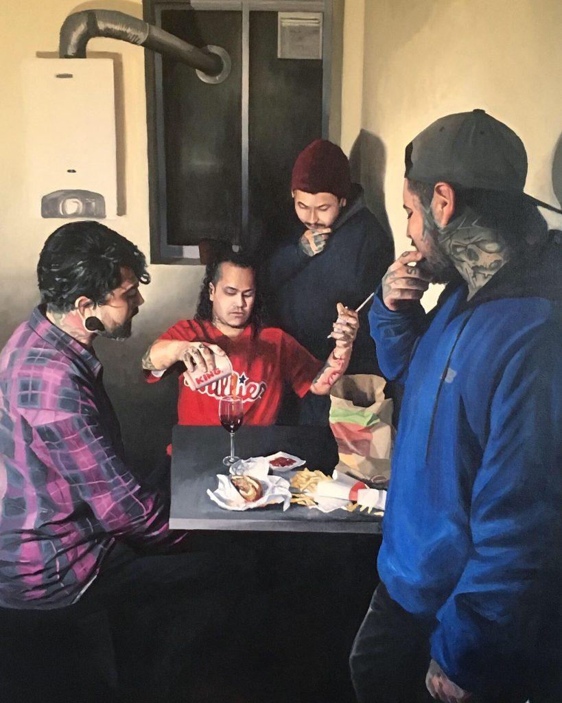 figurative painter Raul Pizarro