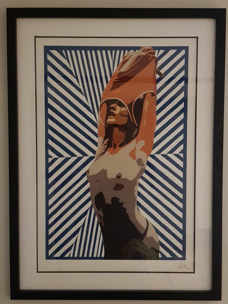 Venezuelan artist Carlos Perez del Moro
