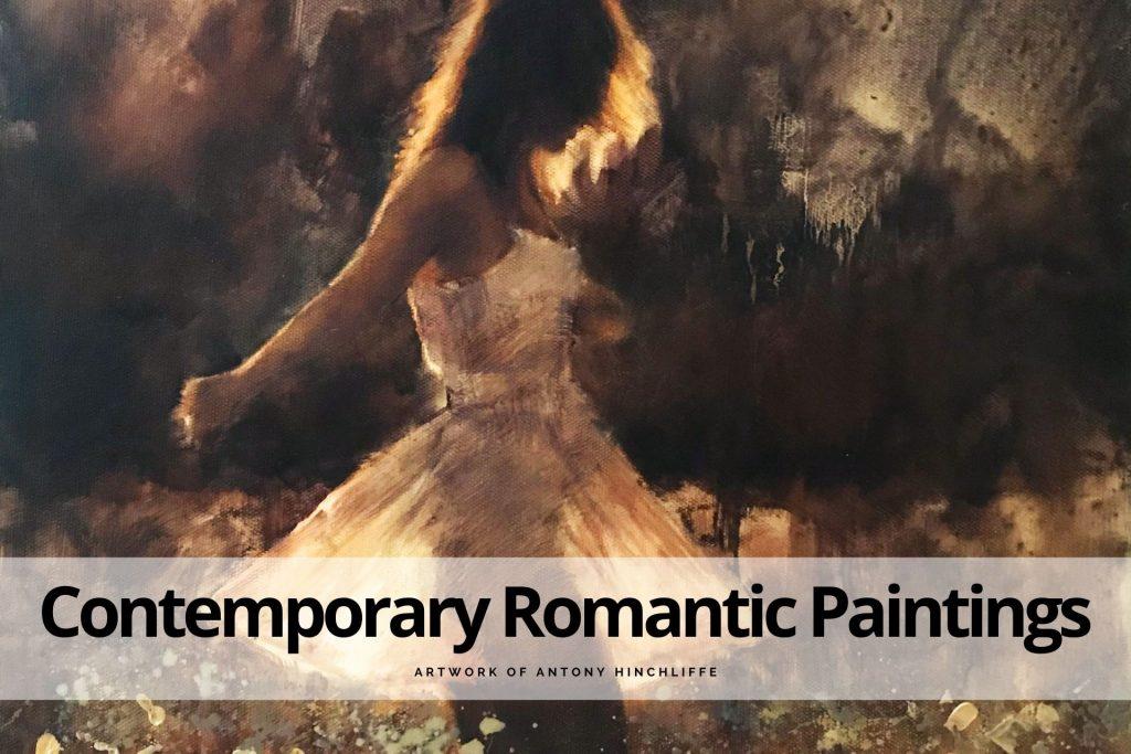 contemporary romantic paintings by Antony Hinchliffe